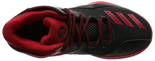adidas Rose 773 V J, Zapatillas de Baloncesto Para Niños Negro (Negbas / Escarl / Griosc)