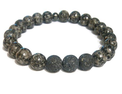 unisex-gray-fossil-jasper-aromatherapy-essential-oil-diffuser-bracelet