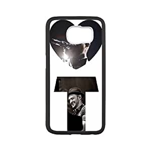 Fggcc Justin Timberlake Case for SamSung Galaxy S6,Justin Timberlake S6 Cell Phone Case (pattern 7)