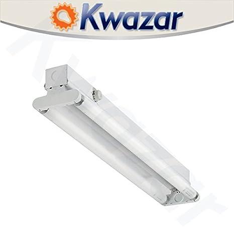 Kwazar Leuchte - Lámpara fluorescente, Oficina, IP20, 2 x 20 ...