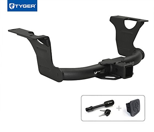 """Tyger Auto TG-HC3S0158 Class 3 Trailer Hitch Combo with 2"""" R"""