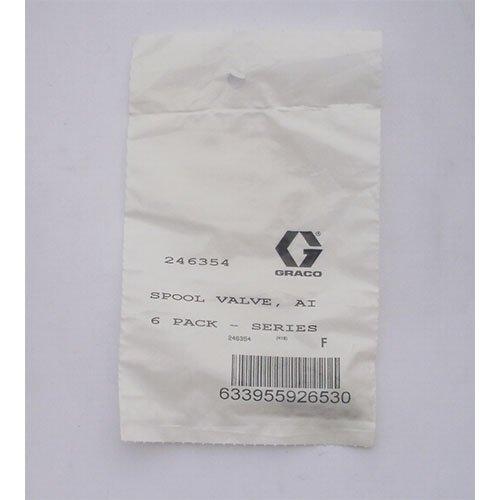 Graco Fusion Air-Purge ( AP ) O-Ring, Clean off Air, Pack of 6 246354