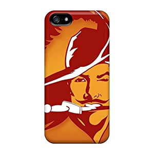 AlissaDubois Iphone 5/5s Protector Hard Cell-phone Cases Custom Trendy Tampa Bay Buccaneers Series [vDJ1726mBzn]