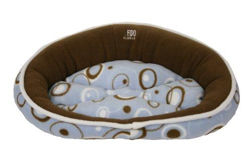 Premier Pet Fido Fleece Cloud Bed Ring A Ding Petite, My Pet Supplies