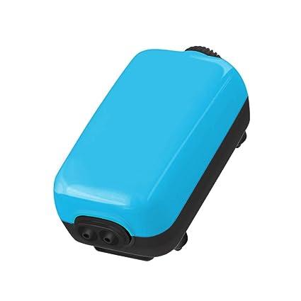 Jiasj Mini Ajustable Bomba Aire Acuario, Ultra silencioso <35 dB ...
