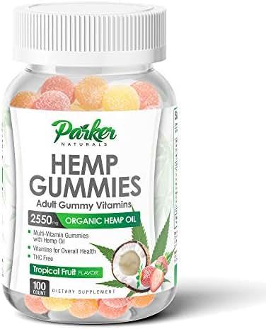 Multivitamins: Parker Naturals Hemp Gummies
