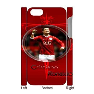 Cristiano Ronaldo For iphone4 4S 3D Cell Phone Case White BTY643421