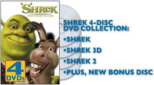 Shrek - The Story So Far (Shrek 1 & 2 Full Screen / Shrek 3D - Party in the Swamp)