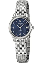 Longines Flagship Automatic Blue Dial Stainless Steel Ladies Watch L42744966