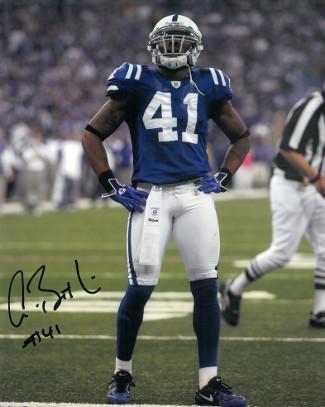 Autographed Antoine Bethea Photo - 8x10 - Autographed NFL Photos Athlon
