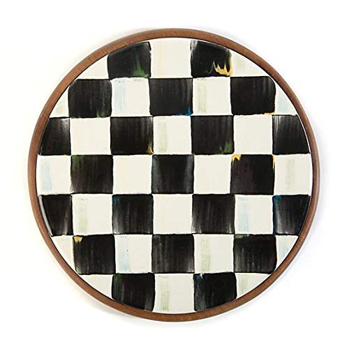 MacKenzie-Childs Courtly Check Enamel Trivet by MacKenzie-Childs