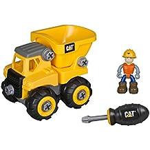 Toy State Caterpillar CAT Junior Operator Dump Truck Construction Vehicle