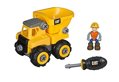 r CAT Junior Operator Dump Truck Construction Vehicle (Own Cat Toy)
