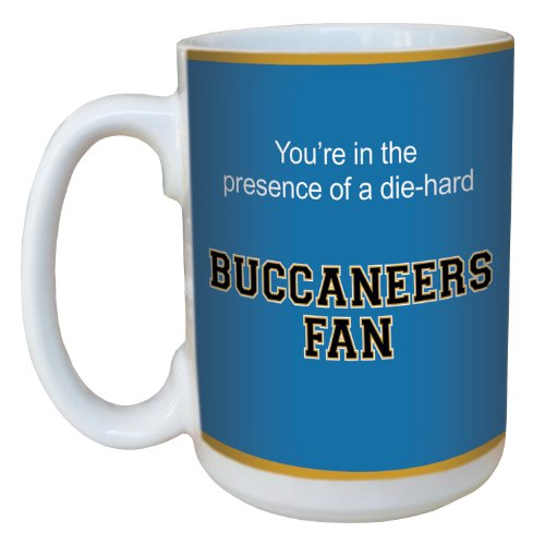 Tree-Free Greetings lm44695 Buccaneers College Basketball Ceramic Mug with Full-Sized Handle, 15-Ounce