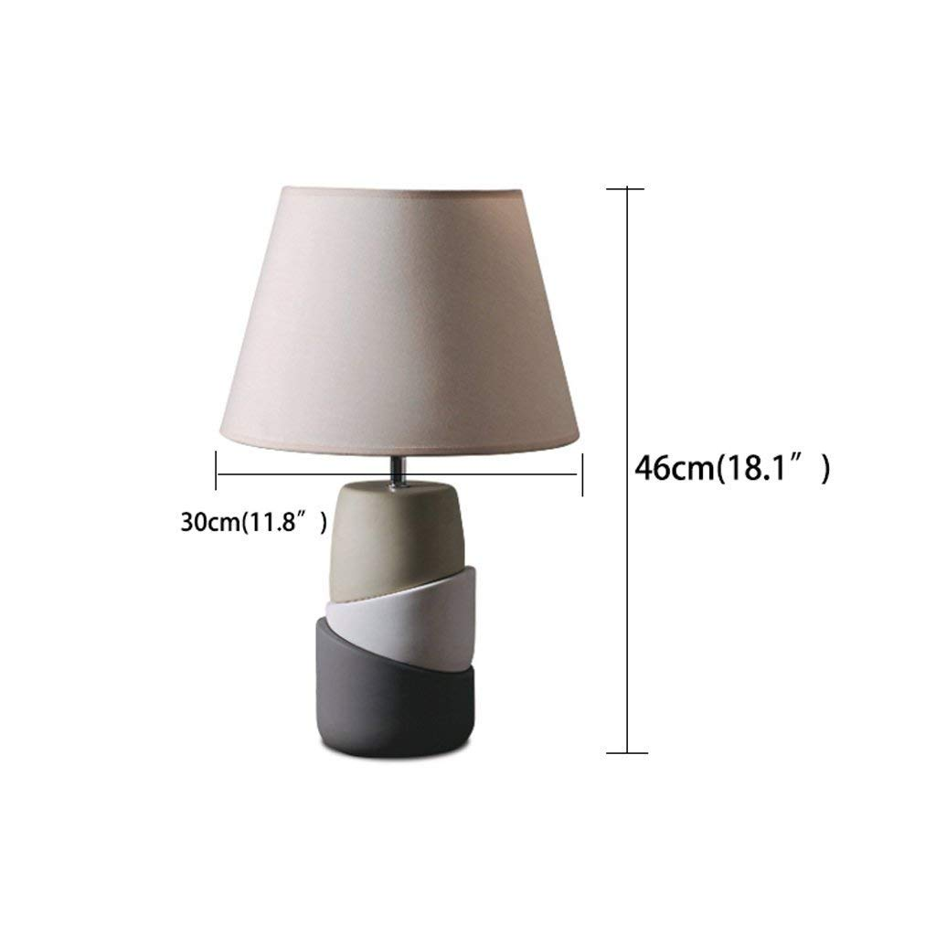 Amazon.com: ChuanHan Ceiling Fan Light Chandelier Lightings Table Lamp European-Style Polygonal Splicing Ceramic Table Creative Fashion Warm Bedside Bedroom ...