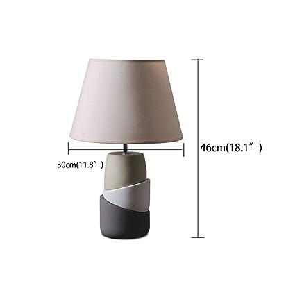 ChuanHan Ceiling Fan Light Chandelier Lightings Table Lamp European-Style Polygonal Splicing Ceramic Table Creative