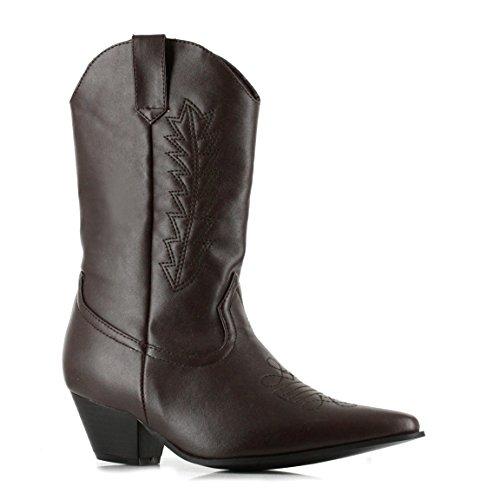 Ellie Shoes 1.5 Heel Cowboy Enkellaars Kinders. M Brwp Brwp