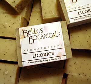 Licorice Aromatherapy Soap/ Natural Glycerin Soap