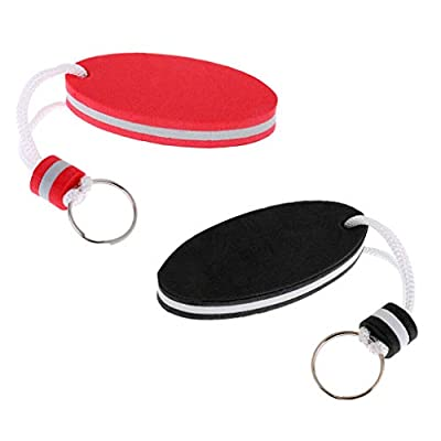 NATFUR Set of 2pcs Floating EVA Boat Keychain Marine Keyring Float Buoy Boating Fob Pretty Novelty for Women Cute Holder Perfect for Girls Pretty Great Lovely : Garden & Outdoor