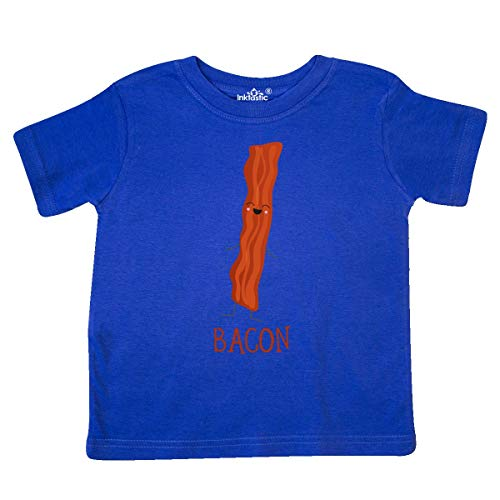 (inktastic - Bacon Costume Toddler T-Shirt 5/6 Royal Blue)