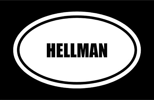 6-die-cut-white-vinyl-hellman-name-oval-euro-style-vinyl-decal-sticker