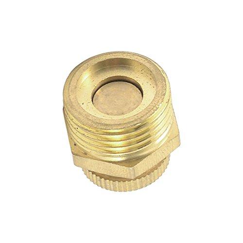 Moligh doll Tono Dorado Compresor De Aire Pieza Metal Agua Valvula De Drenaje 20mm: Amazon.es: Bricolaje y herramientas