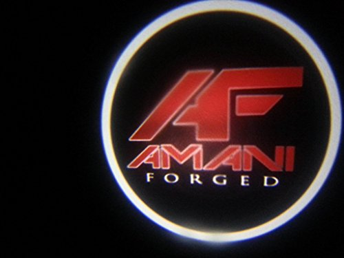 (Amani forged Ghost Door Logo Projector Shadow Puddle Laser Led Lights 7w (Qty 2) FROM USA)