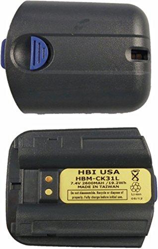 HBM-CK31L 2600mAh 7.4V REPLACEMENT LI ION BATTERY FOR INT...