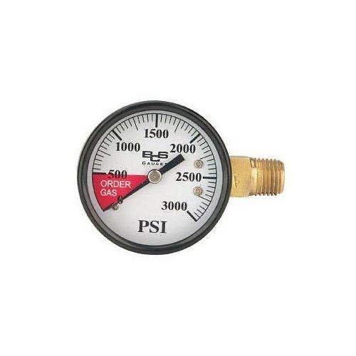 HomeBrewStuff High Pressure Gauge Right Hand Thread