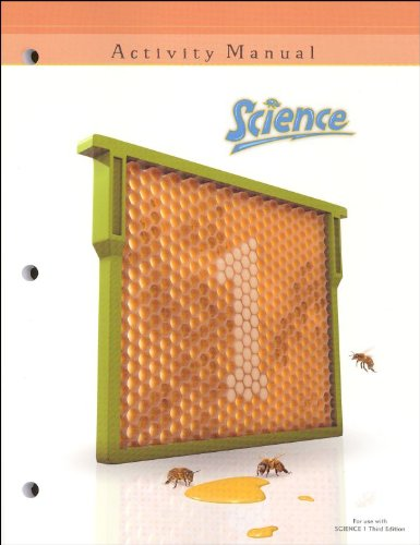 Science 1 Activity Manual Student Book 3rd Edition