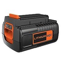 BLACK+DECKER 40V MAX Lithium Ion Battery