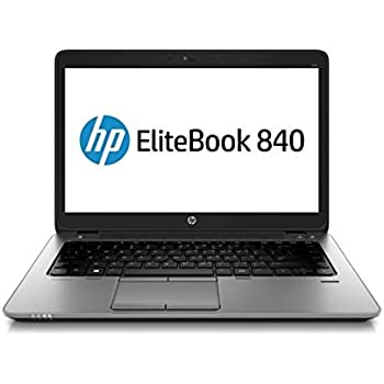 HP EliteBook 840 G1 14in HD Business Laptop Computer Ultrabook, Intel Core  i5-4300U 1 9 GHz Processor, 8GB RAM, 128GB SSD, USB 3 0, VGA, Wifi, RJ45,