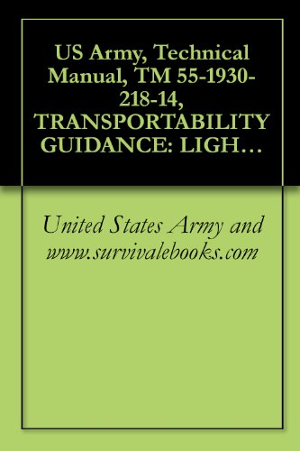 US Army, Technical Manual, TM 55-1930-218-14, TRANSPORTABILITY GUIDANCE: LIGHTER, AMPHIBIAN, AIR-CUSHIONED VE 30-TON PAYLOAD, (LACV-30), 1979