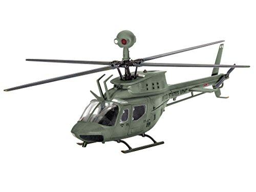 Revell Germany Bell OH-58D 'Kiowa' Model Kit (1/72 Scale)