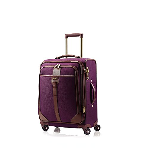 hartmann-herringbone-luxe-softside-carry-on-expandable-spinner-luggage-eggplant