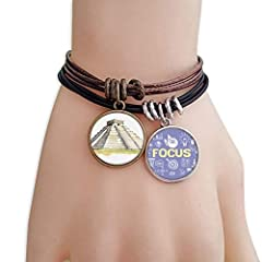 "Size: The size of pendant is 2 cm (0.8 inch) in diameter. The length each bracelet is adjustable between 19cm â€"" 22.5 cm (7.4 inch â€"" 8.8 inch)Classification: BraceletFeature: -An all-matching accessory for wearing clothes-Provides m..."