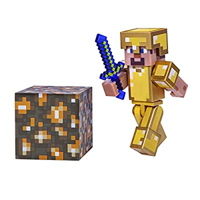 Minecraft Skeleton in Leather Armor Figure Pack from Minecraft
