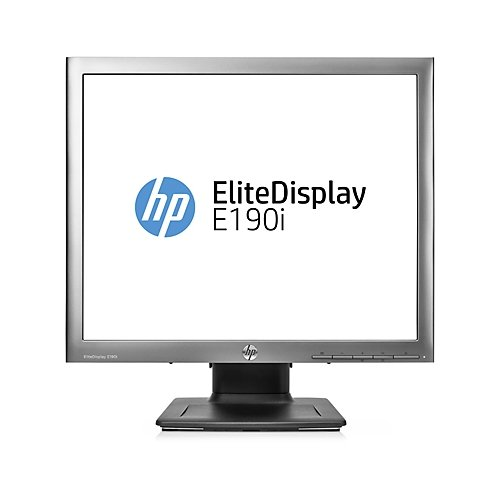 HP EliteDisplay E190i - LED monitor - 18.9 - 1280 x 1024 - IPS - 250 cd/m2 - 1000:1 - 3000000:1 (dy