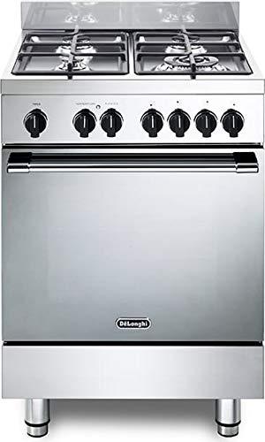 Cocina de gas con horno eléctrico, N° 4 fuegos, 60 x 60 cm, color ...