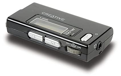 NEW DRIVERS: CREATIVE NOMAD MUVO MICRO N200 MP3 PLAYER