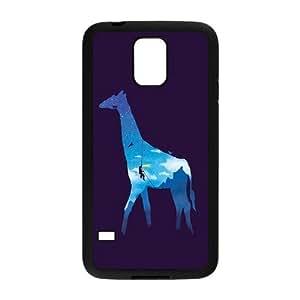 Nymeria 19 Customized Giraffe Diy Design For Samsung Galaxy S5 Hard Back Cover Case DE-18