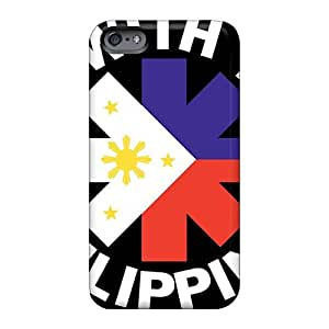 Iphone 6 DyY16453sOWk Provide Private Custom Realistic Red Hot Chili Peppers Image Great Hard Phone Case -AaronBlanchette