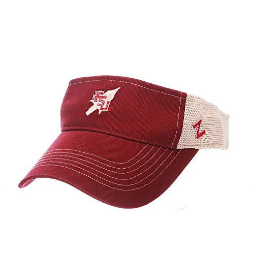 ZHATS Florida State Seminoles FSU Spear Adjustable Snapback Visor ()
