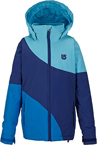Burton Kids Girl's Hart Jacket (Little Kids/Big Kids) Ultra Blue Block Outerwear XL (18 Big Kids) by Burton