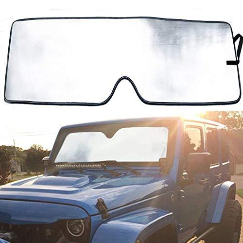 Bentolin Windshield Sunshade Sun Shade for 2007-2017 Jeep Wrangler JK