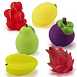 Baby Bathing Wash Play Cartoon Vegetable Fruit Educational Toys Best Gifts for Kids - Waymine