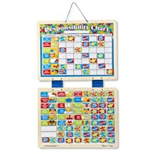 LearningLAB Magnetic Responsibility Chart