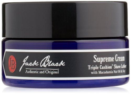 Jack Black Crème suprême Coussin Triple Shave Lather, 8 oz