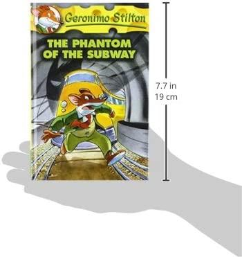 The Phantom of the Subway (Geronimo Stilton): Amazon.es ...