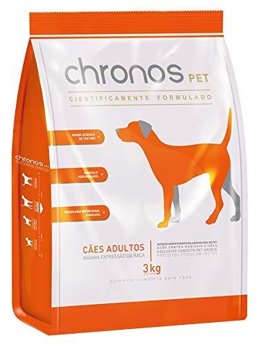 Ração Chronos Pet Super Premium paraCães Adultos Raças Médias - 3kg